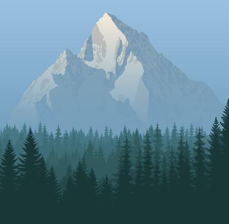 matterhorn: winter mountains landscape
