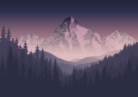 swiss alps: morning mountains landscape