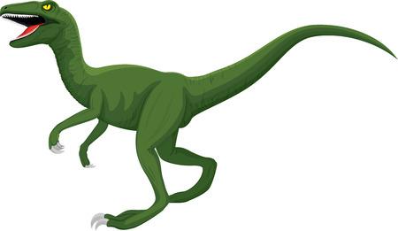 vector raptor dinosaur illustration