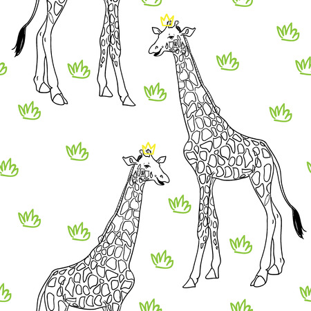 Pattern isolated on background.  Vector pattern for fabric, textile, wallpeaper, wrapping paper, nursery art