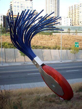 Seattle art sculpture Sajtókép