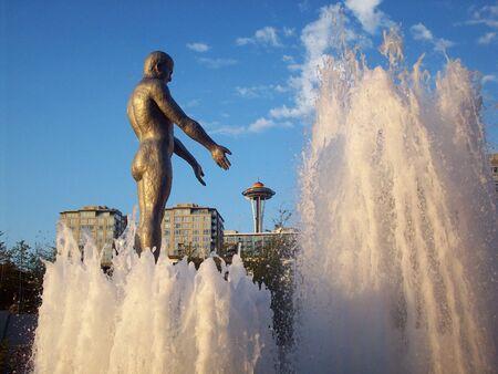 Estatua de Seattle Foto de archivo - 90204943