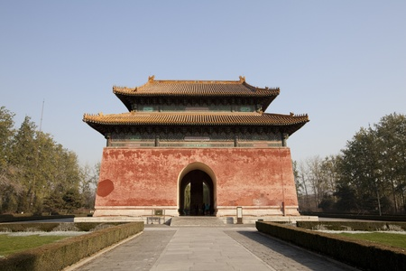 Chinese Fortress On The Sacred Way Of The Ming Tombs