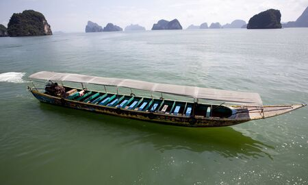 Tourist Boat InThailand  photo