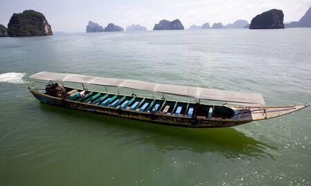 Tourist Boat InThailand  photo