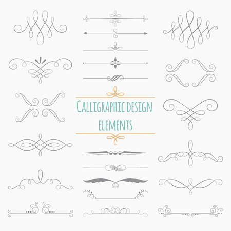 Graphic elements. Monogram on white background for design greetings, menus, wedding invitations. Illusztráció