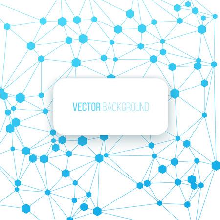 Fondo de conexión digital. Ilustración del concepto de comunicación sobre un fondo blanco. Foto de archivo - 39121567
