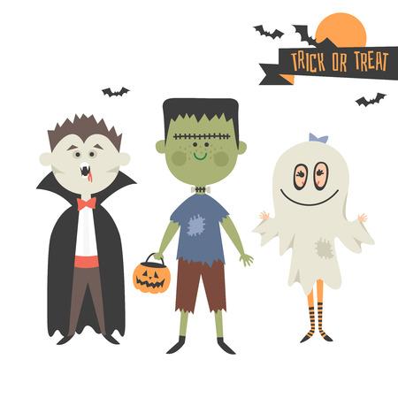 treats: Monster Halloween party.