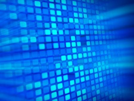 objetos cuadrados: Fondo azul abstracto
