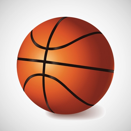 balon baloncesto: Vector de baloncesto Vectores