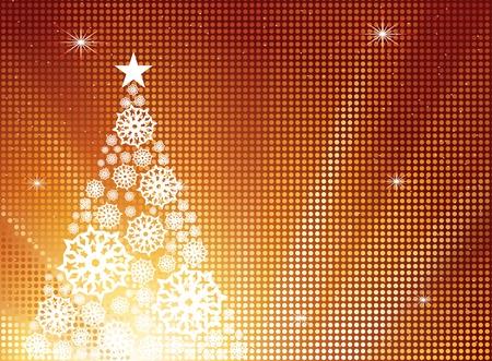 New year tree Stock Vector - 10823596