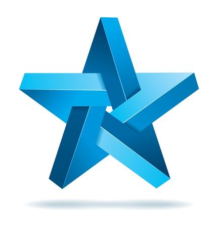unreal: Unreal geometrical star