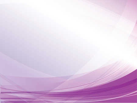 flow of colors: Vector abstract purple lines Illustration