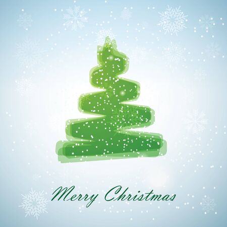 Christmas tree  Иллюстрация