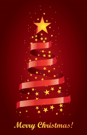 New year tree Vector