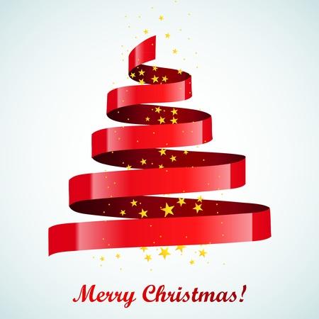 feliz: New year tree