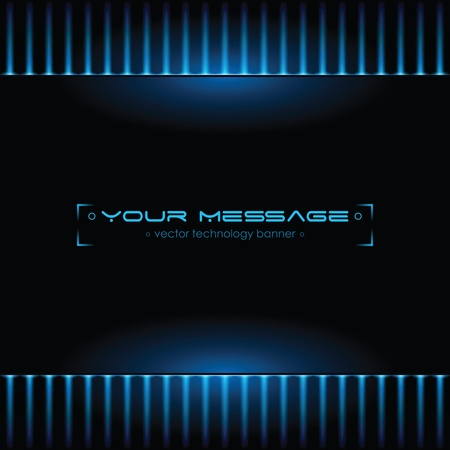 Technology background with space for text Vector