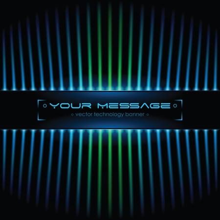 Tecnologia sfondo con spazio per testo