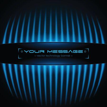 Tecnologia sfondo con spazio per testo Vettoriali