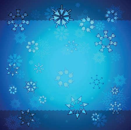 Creative christmas background