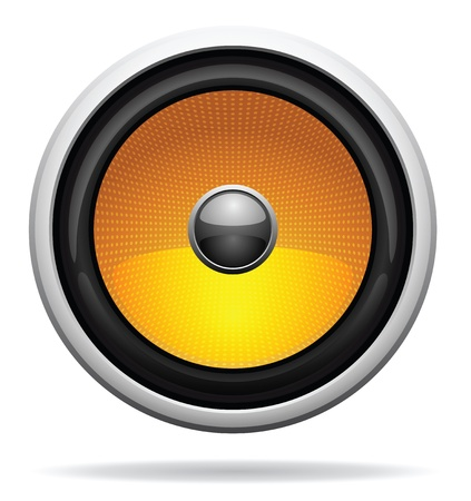 Car Loudspeaker Icon photo