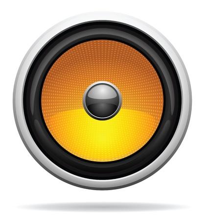 sub woofer: Car Loudspeaker Icon