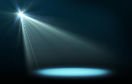 コンサートの照明の抽象的なイメージ