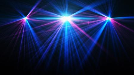 night club: Immagine astratta del concerto di illuminazione