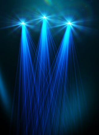 Abstract image of concert lighting photo