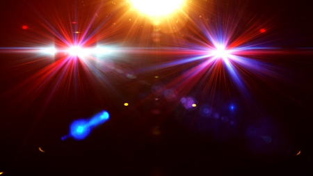 club scene: Abstract image of disco lighting