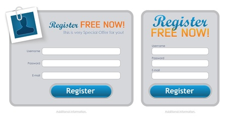 registration: Clean Registration Form