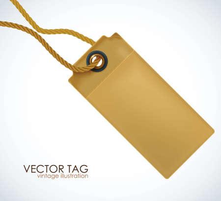 Price tag illustration