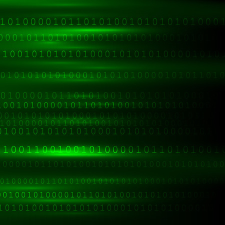 encoded: Abstract Matrix Background. Binary Computer Code. Coding  Hacker concept. Background Illustration.