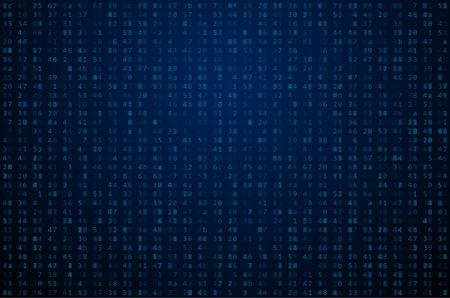 computer code: Abstract Matrix Background. Binary Computer Code. Coding  Hacker concept.  Background Illustration. Illustration