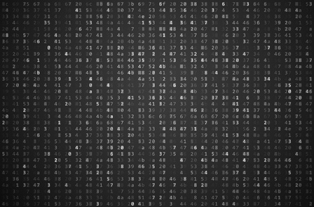 binary matrix: Abstract Matrix Background. Binary Computer Code. Coding  Hacker concept. Background Illustration.