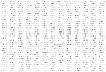 Abstract Matrix Background. Binary Computer Code. Coding / Hacker concept. Vector Background Illustration.