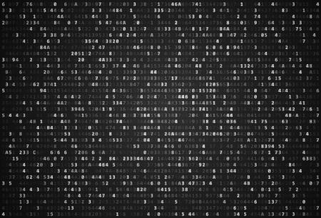 computer code: Abstract Matrix Background. Binary Computer Code. Coding  Hacker concept. Background Illustration.