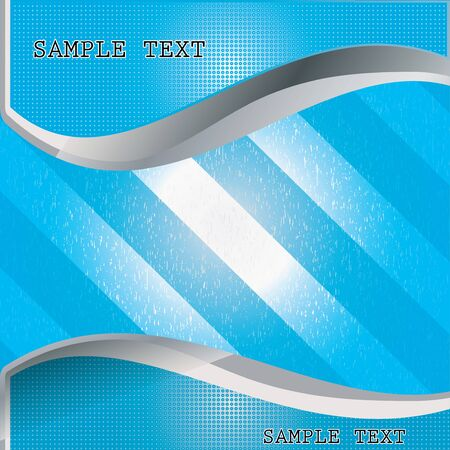 Sample Text Card whit texture Vector