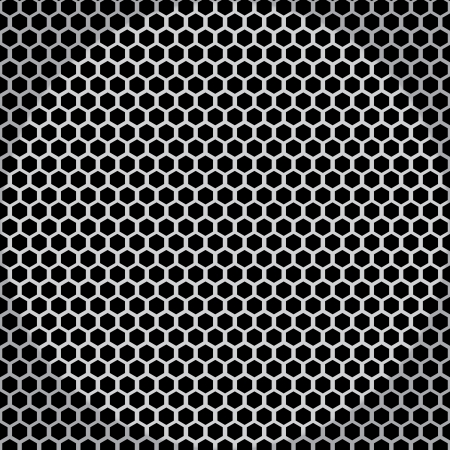 Metal net seamless texture background Vector