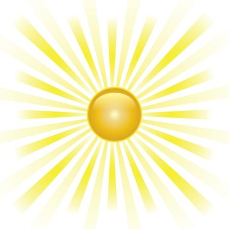 Sunburst abstract  Vector