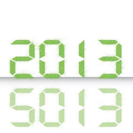 New year 2013  Vector