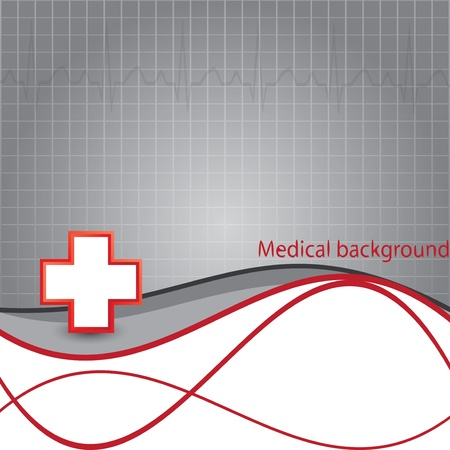 hospital sign: Blood donation Medical background Illustration