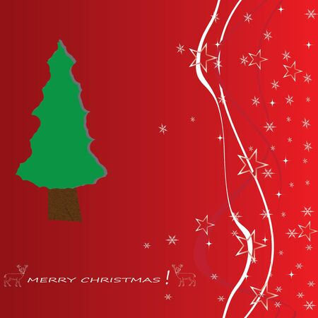 Christmas tree applique vector background  Eps 10  Vector