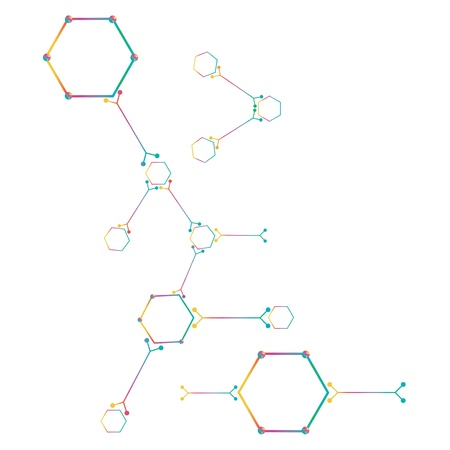 Atom part on white background. Stock Vector - 18220115