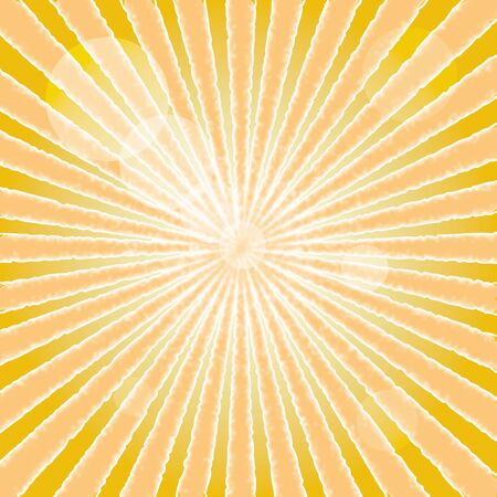 Abstract background of sun beam.vector Stock Vector - 18577471