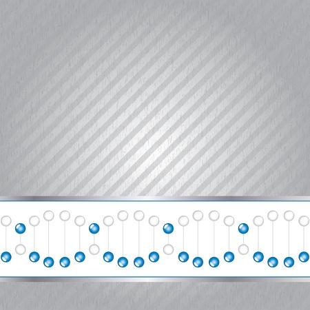 DNA strand illustration on texture.vector Stock Vector - 18577475