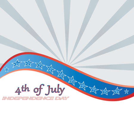 4 th of july background .vector Vector