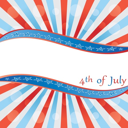 4 th of july background .vector Stock Vector - 19859192
