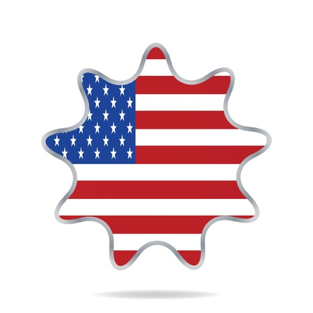 USA banner design set Vector