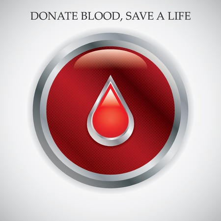 Blood donation .Medical background  Vector